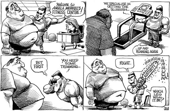L'austerity? Come tagliarsi una gamba