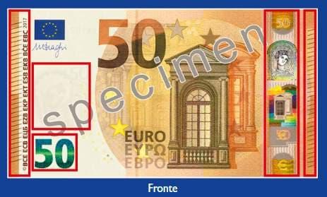 Arriva la nuova banconota da 50 euro, anti contraffazione