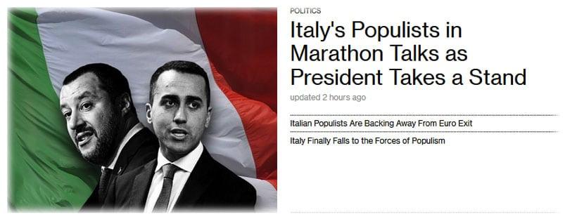 Italia: dal minibot all'autarchia