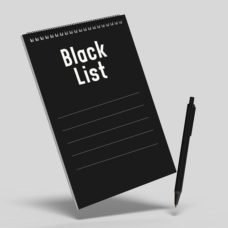 Black List Consob, aggiornamento di settembre 2019