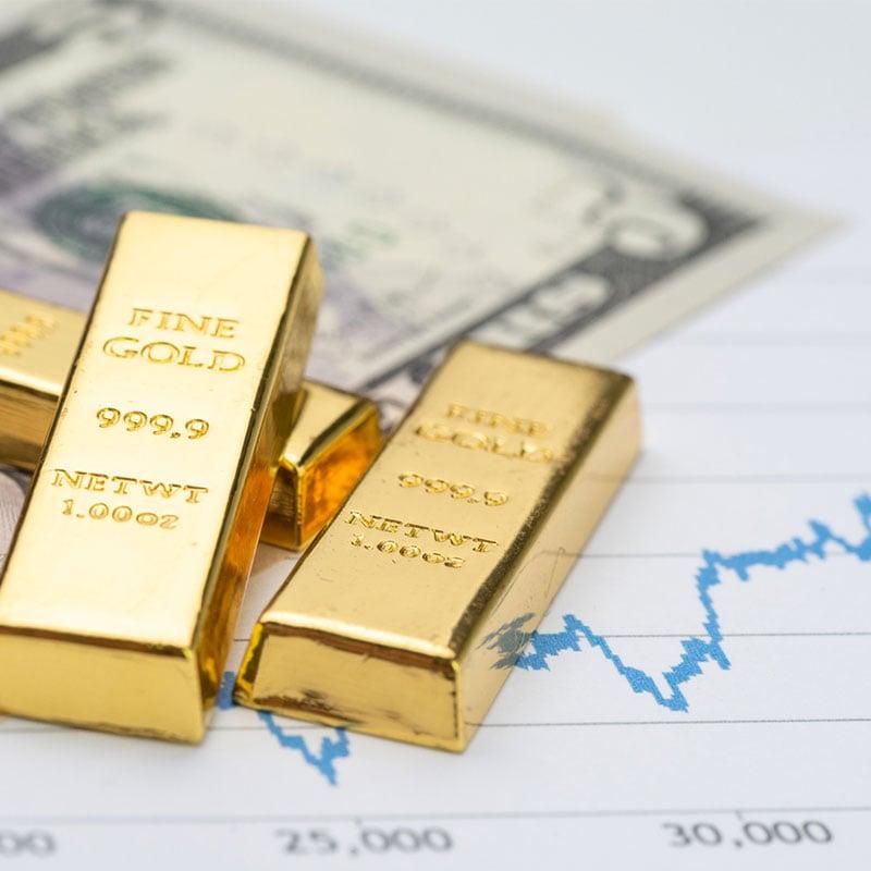 I mercati colpiscono il prezzo dell'oro